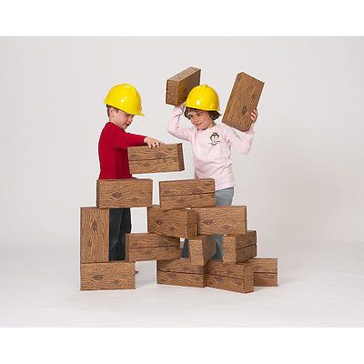 Blocks Tiles and Mats 145931: 16Pc Giant Timber Blocks -> BUY IT NOW ONLY: $33.66 on eBay!