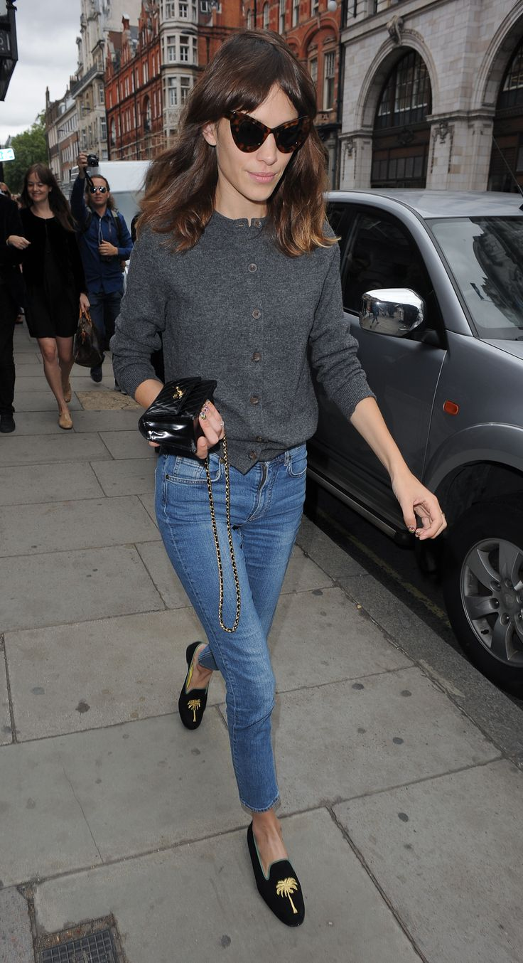 our roundup of the best loafers on the market, inspired by Alexa Chung!