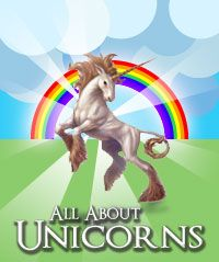 Unicorns have long enchanted humankind with the symbolism of their grace, finesse, and unconquerable nature. This site holds information about unicorns, including pictures of unicorns of every imaginable type. I hope that you will find this little site to be a valuable resource about unicorns, and encourage you to bookmark it in your browser. If this is your first time here, you might want to visit the What is a Unicorn page for a good introduction on unicorns.