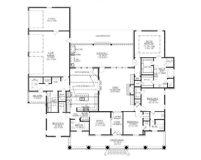 1000 images about the alexandria on pinterest stove for Madden house plans