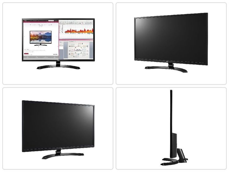 Computer Desktop Monitor LG 32-Inch IPS Monitor with Display Port and HDMI Input #LGElectronics