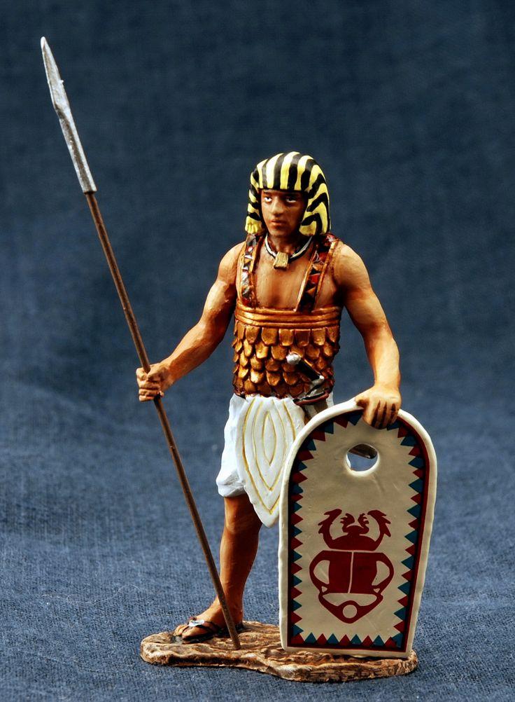 египетский воин раскраски