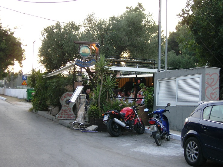 Captains Bar, Skala, Kefallonia Greece. Cocktail bar totally different to any other, fab holiday destination too.