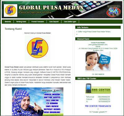 Kini, Serverpulsamurah.net melayani pembuatan website khusus untuk pemasaran bisnis pulsa anda. Dengan pemasaran via website maka server pulsa anda akan semakin dikenal diseluruh Indonesia.