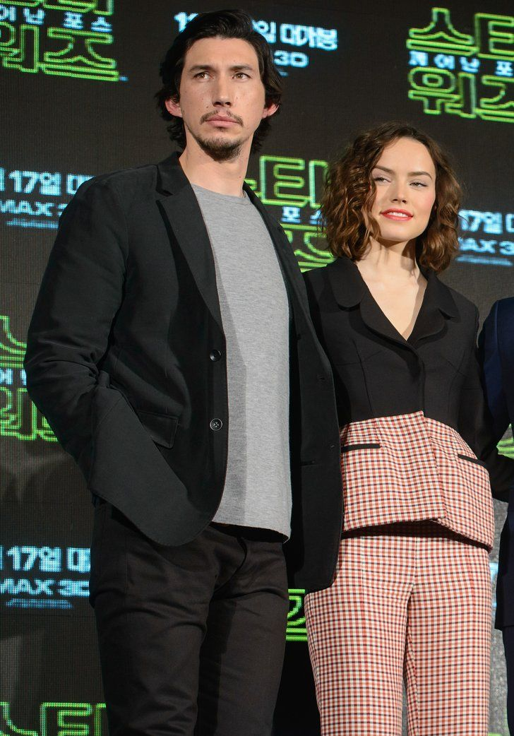 Celebrity & Entertainment | See Adam Driver and Daisy Ridley's Sweet Real-Life Chemistry, in Photos | POPSUGAR Celebrity Photo 7