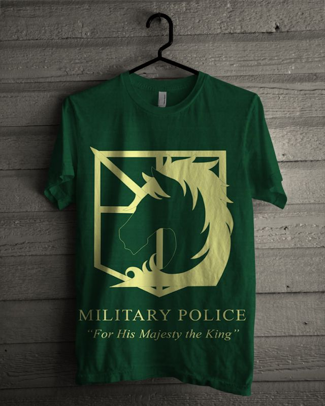 T-shirt SnK military police