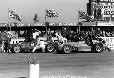 #9 Peter Walker (GB) / Tony Rolt (GB) - Era E (Era 6S) gearbox (10) Privateer #17Eugene Martin (Fra) - Talbot Lago T26C-DA (Talbot 6) oil pressure (7) Automobiles Talbot-Darracq SA
