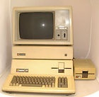 Complete 80s Apple III Computer System