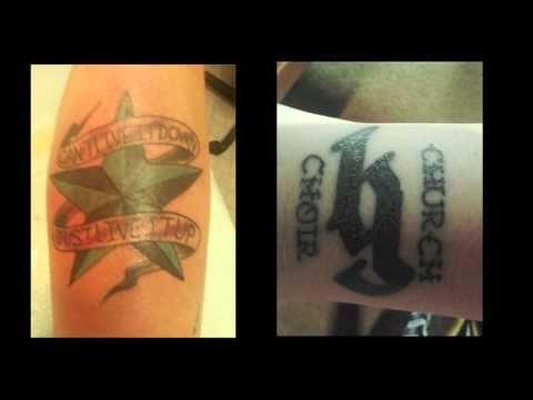 Brantley Gilbert Lyric Tattoos