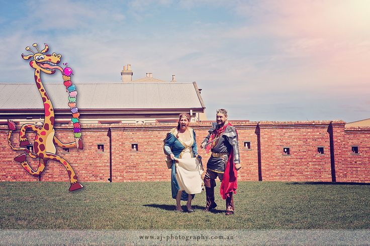 King Nik & Queen Julie - anyone for iScream? #weddingphotography #geelongweddingphotographer #geelongweddings #weddingphotographygeelong