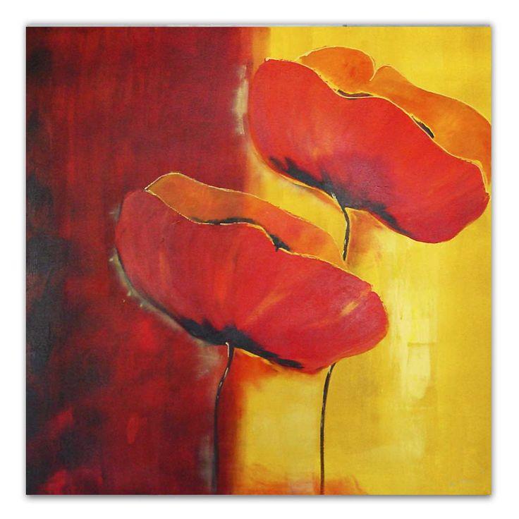 25 beste idee n over geel schilderij op pinterest geel gele kunst en zonnebloem canvas - Kleuren schilderij eetkamer ...