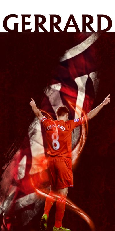 Simply the GERRARD by velimirius.deviantart.com on @deviantART made this today after the Arsenal game, to distract mind from that robbery that webb did... Stevie is always a mind reliever. #LFC #YNWA