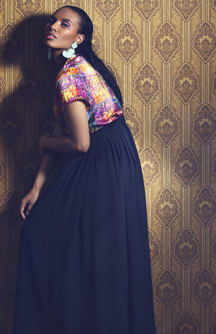 Aava Earrings. Photographer Nana Simelius, Model Yacine Samb, Muah Kata Niemi Make Up and Hair