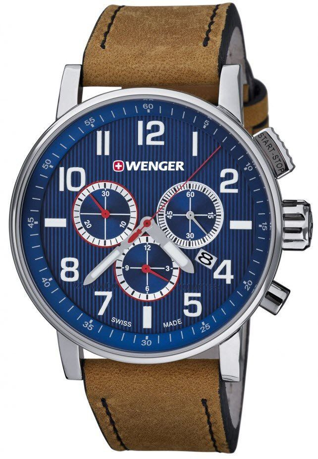 Wenger Watch Attitude #add-content #bezel-fixed #bracelet-strap-leather #brand-wenger #case-depth-13-2mm #case-material-steel #case-width-43mm #chronograph-yes #classic #date-yes #delivery-timescale-4-7-days #dial-colour-blue #gender-mens #movement-quartz-battery #official-stockist-for-wenger-watches #packaging-wenger-watch-packaging #style-dress #subcat-attitude #supplier-model-no-01-0343-101 #warranty-wenger-official-3-year-guarantee #water-resistant-100m