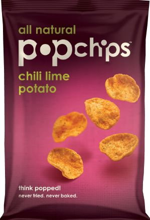 my current obsession. popcorn chips...20 chips for like 120 calories. i normally dont eat chips except tortilla chips...and those average about 140 calories for 12 chips. not to mention the fat content.