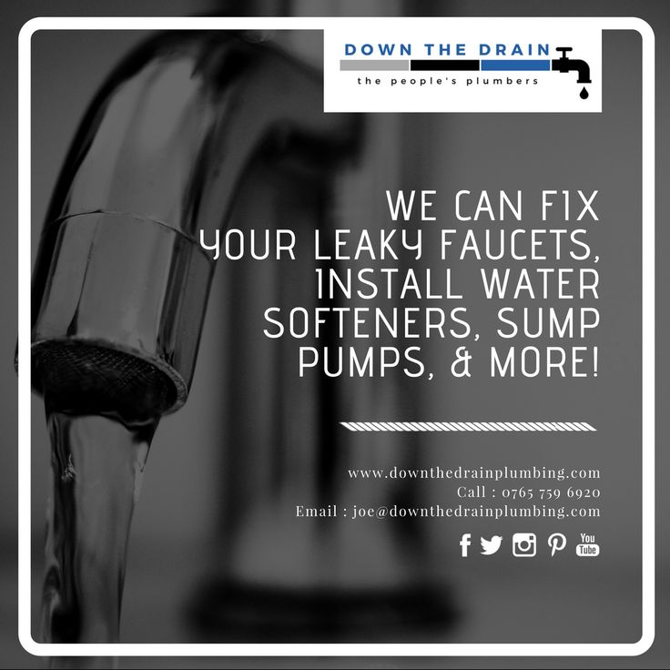 Leaking taps and toilet repairs are all part of the