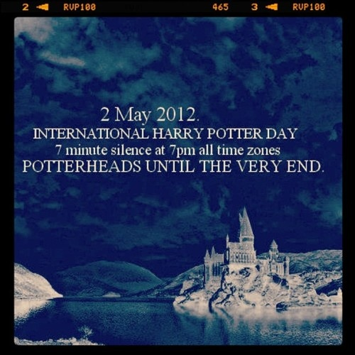 May 2nd is Harry Potter Day!
