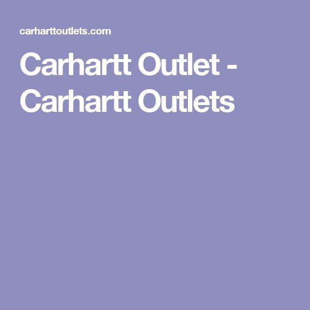 Carhartt Outlet - Carhartt Outlets