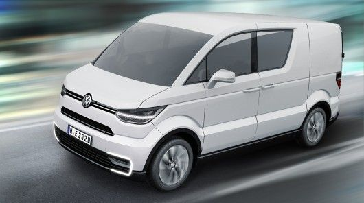 The e-Co-Motion concept from Volkswagen Commercial Vehicles is a zero-emission city delive...