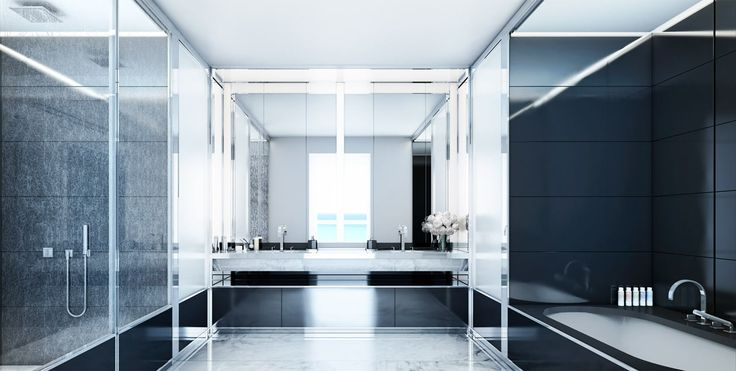 Interior Bathrooms at Faena House Miami Beach