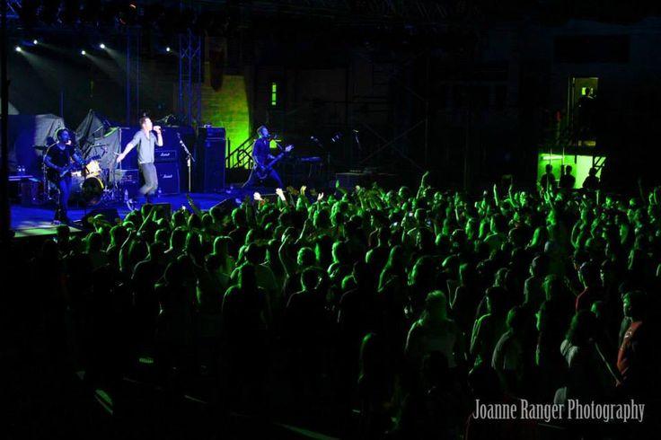 Faber Drive performing at Kirkland Lake, Ontario in Ontario on June 27th,  2014.