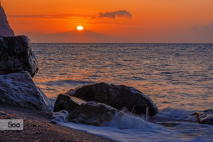 Sunrise in Santorini by Nikolaos Mitkanis on 500px
