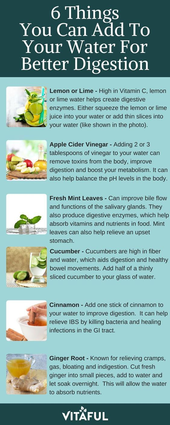 6 Things You Can Add To Your Water For Better Digestion | Detox Water | Gut Health | (scheduled via http://www.tailwindapp.com?utm_source=pinterest&utm_medium=twpin&utm_content=post116431777&utm_campaign=scheduler_attribution) #detoxwater
