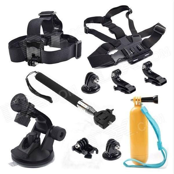 #10In1 #Sports #Camera #Accessories #Kit #For #GoPro #Hero #4 #3 #SJ4000 #SJ5000 #SJCAM #Xiaoyi # #Black #Cameras # #Photo # #Video #Consumer #Electronics #GoPro #Accessories #Home #Other #GoPro #Accessories Available on Store USA EUROPE AUSTRALIA http://ift.tt/2fALH11