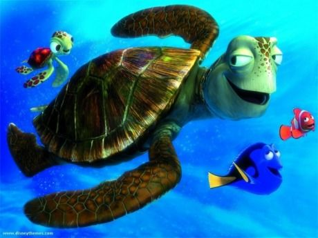 Crush the Turtle from Finding Nemo