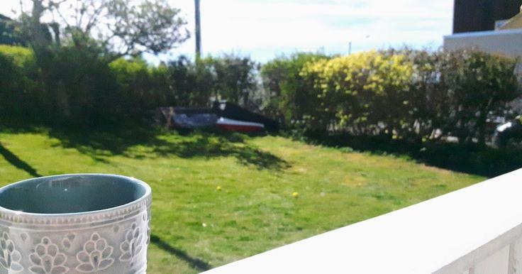 Aamukahvi aurinkoisella terassilla on yksi asia, josta haaveilen joka talvi. Viimeisen muutaman viikon aikana on ollut niin lämmintä, että t...