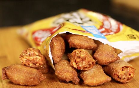 If you haven't had a Totino's Pizza Roll you're missing out on some really cheap okay pizza flavored snacks.  I can't tell you how many drunk college nights I would microwave, not bake... microwave 2 dozen of these and eat them until I fell asleep.  Sound