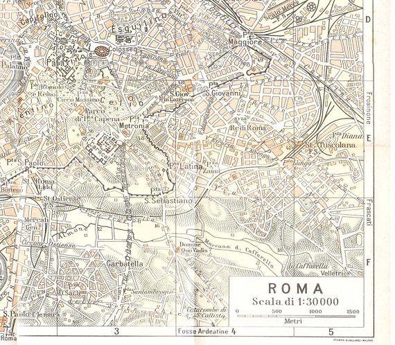 De Bästa Maps Of Rome And Vatican Citybilderna På Pinterest - Vatican city rome map