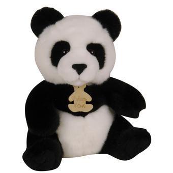 Histoire d'Ours  Peluche Les Authentiques  Panda_0