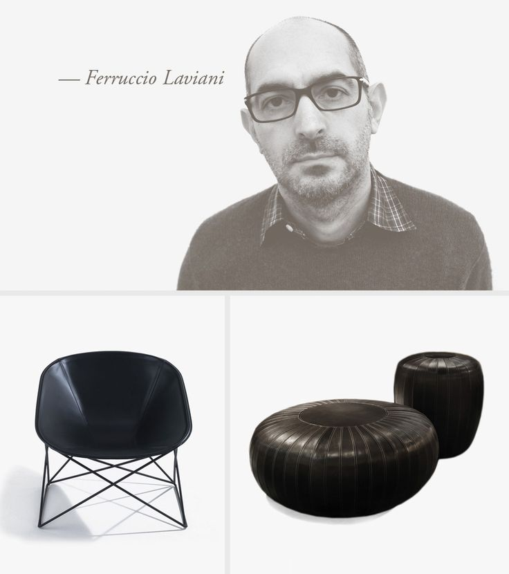 LEMA | FERRUCCIO LAVIANI Ferruccio Laviani was born in Cremona in 1960. In 1984 he received a diploma at the Design Polytechnic of Milan and in 1986 a degree in architecture at the Polytechnic of Milan. He collaborates with leading companies in the sector of furnishing and fashion.