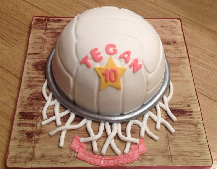 Netball Cake Google Search The Next Big Thing