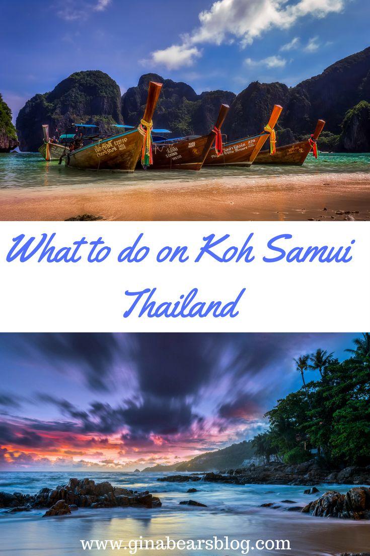 What to do on Koh Samui Thailand http://ginabearsblog.com/2017/06/koh-samui-thailand/