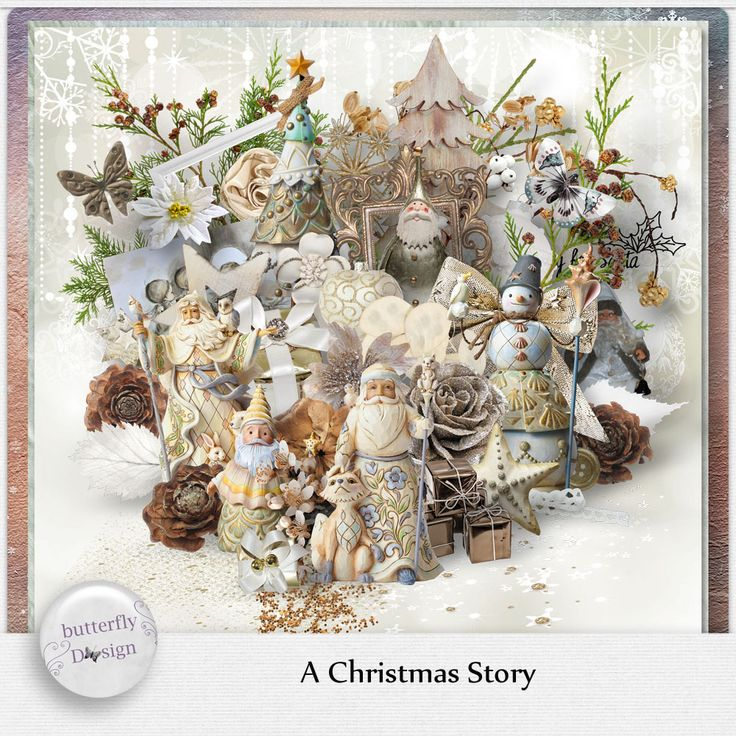 Digital Art :: Kits :: A christmas Story [Page kit] by butterflyDsign