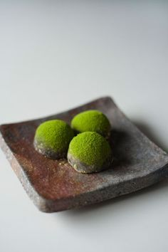 Japanese sweets. 「抹茶蕨餅」
