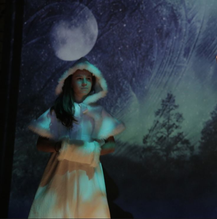 Hooded cape and muff by Lorigami, photo from Melissa Arctic by The Road Theatre  https://www.etsy.com/listing/170050266/snow-maiden-fur-lined-velvet-hooded