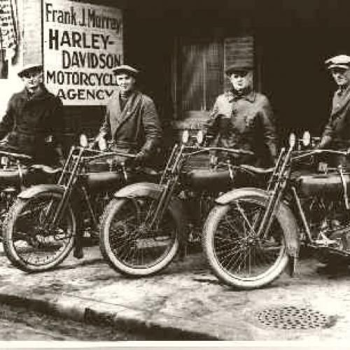 Harley Davidson old photos