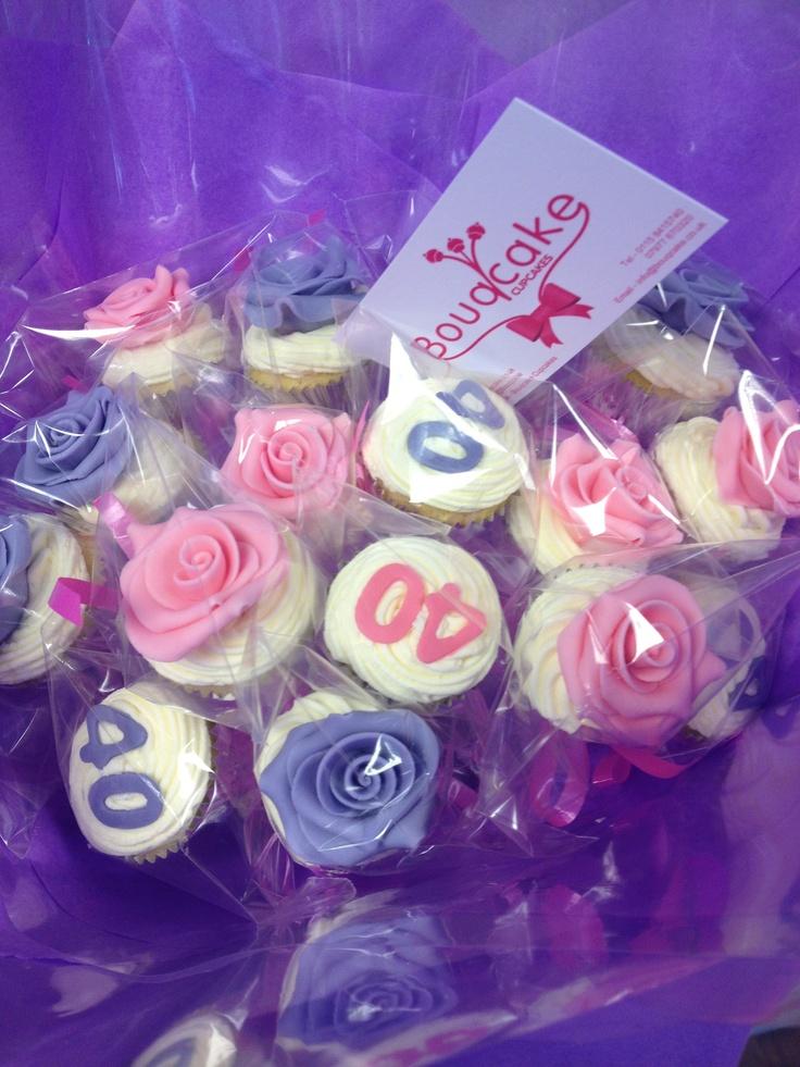Cupcake bouquet 'bouqcake' birthday treats http://bouqcakecupcakes.webr.ly/