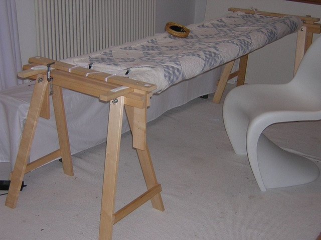 Quilt Frame with VIKAR ARTUR by Redwork in Germany, via Flickr