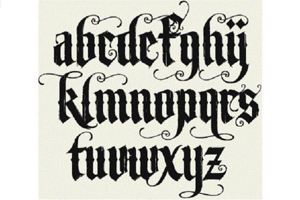 6 Uses for an Old English Font - http://www.allnewhairstyles.com/6-uses-for-an-old-english-font.html