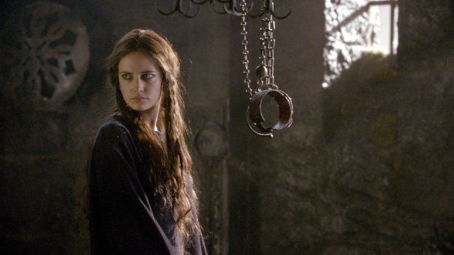 "Eva Green jako Morgana (""Camelot"")"