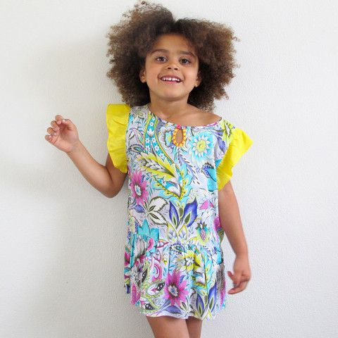 little girls heaven - La Nina Dress - paisley - LND1
