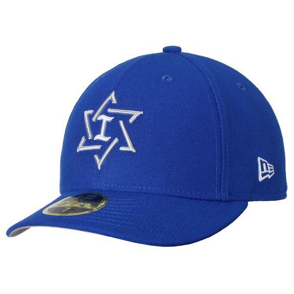 Israel Baseball New Era 2017 World Baseball Classic Low Profile 59FIFTY Fitted Hat - Royal - $34.99