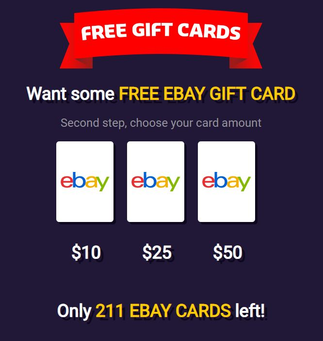 Get Free Ebay Gift Card Hack-how To Get Free $10, $25, And