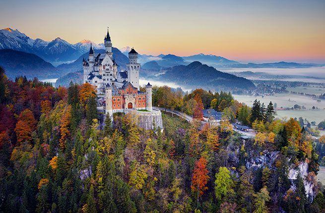 Beautiful Germanys Places Road Romantic Romantictravel Neuschwanstein Castle 7 Beautiful Places On Ge Romantic Road Romantic Road Germany Europe Castles