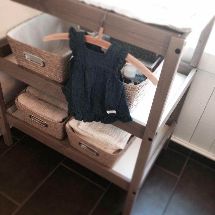 Stellebord fra IKEA. Kurver fra Nille.