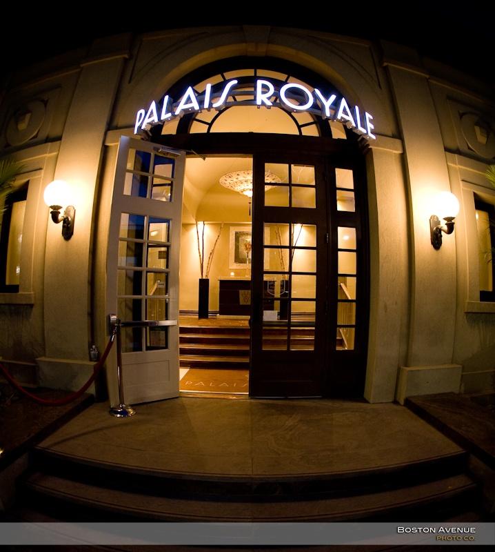 Palais Royale wedding